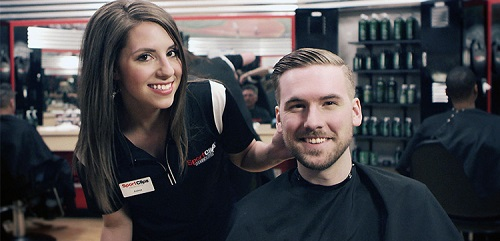 Sport Clips Haircuts of Idaho Falls​ stylist hair cut